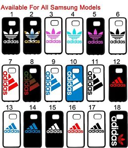 new arrival 5f244 a2a42 Details about Adidas Samsung Galaxy Case S5 S6 S6 S7 S7 EDGE S8 S8 Plus +  Note 4 3 5 Case Tpu