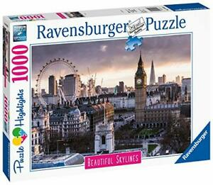 Ravensburger-Jigsaw-Puzzle-BEAUTIFUL-SKYLINES-1000-Pieces-London-Tower-Big-Ben