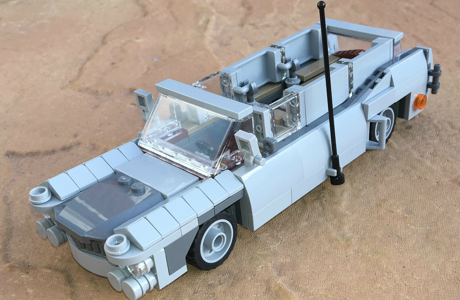 Original LEGO NEW PARTS - CADILLAC MAD MAX CAR CUSTOM VEHICLE - my design