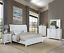 thumbnail 1 - NEW Weathered White Rustic Farmhouse 5PC Queen King Modern Bed Set Bed/D/M/N/C