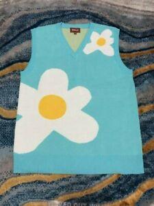 Golf Wang 19ss Blue Sweater Vest S M L Tyler The Creator Golf Le Fleur Ebay