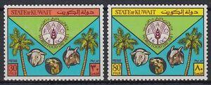 Kuwait-1981-mi-916-17-welternahrungstag-World-Food-Day