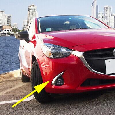 Car Headlight Front Light lamp Cover trims Fit Mazda 2 DEMIO 2015 2016 2pcs