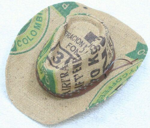 Peter Grimm Cowboy Hat Mans Beige Green Brown West