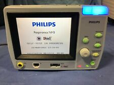 Philips Nm3 7900 Patient Monitor Man Date 2009 Passed Self Test