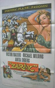Filmplakat-Plakat-ZARAK-VICTOR-MATURA-ANITA-EKBERG-MICHAEL-WILDING-121