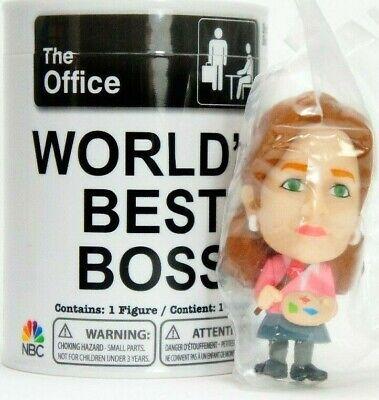 "The Office World/'s Best Boss 2.5/"" Mini Figures Dwight Schrute Series 1 Phatmojo"