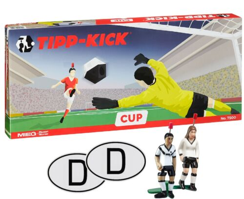TIPP-KICK CUP Germany United Fußball Spiel Set Tip Kick mit Bande