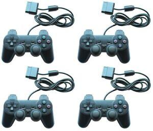 4x-Joypad-Gamepad-Controller-fuer-Playstation-2-PS2-und-Playstation-1-PS1-Neu