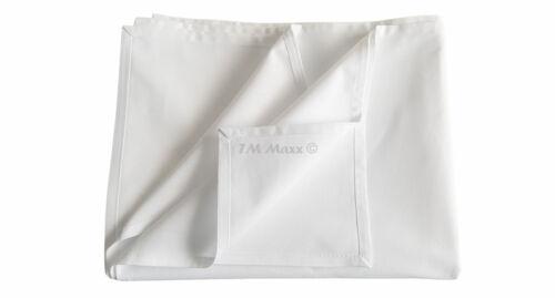 4 Bettlaken Haustuch Betttuch Tischdecke Ohne Gummizug 3 Diverse Größen 180g//m2