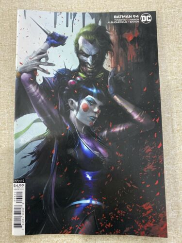 BATMAN #94 MATTINA COVER VARIANT B DC JOKER PUNCHLINE NM 9.4