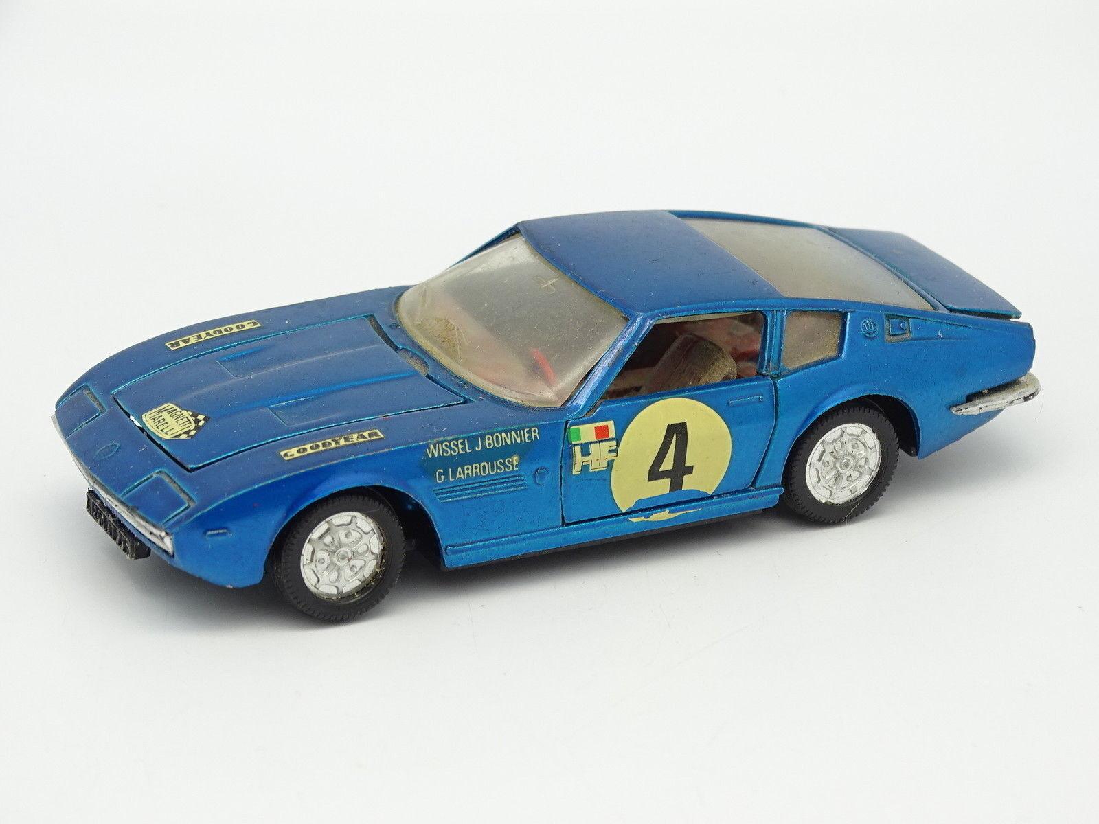 Norev Jet Car SB 1 43 - Maserati Ghibli bluee