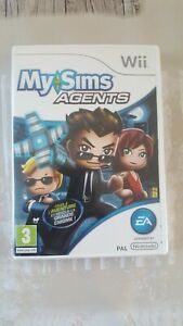 """JEU WII """" MY SIMS AGENTS """""""