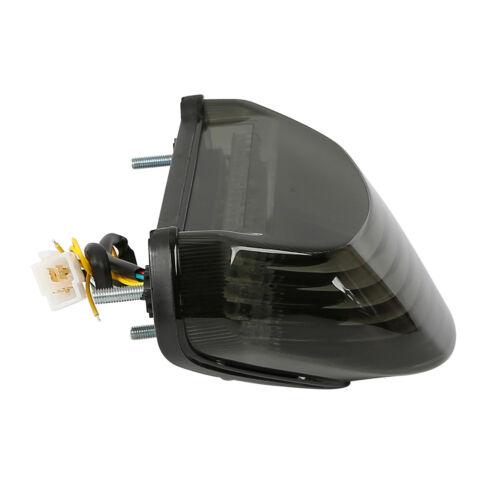 LED Tail Light Integrated Turn Signals For Kawasaki Ninja ZX12R 2000-2005