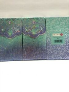 3-Punch-Studio-Metallic-Large-Pocket-Note-Pads-46514-Paisley-Gems-Discontinued
