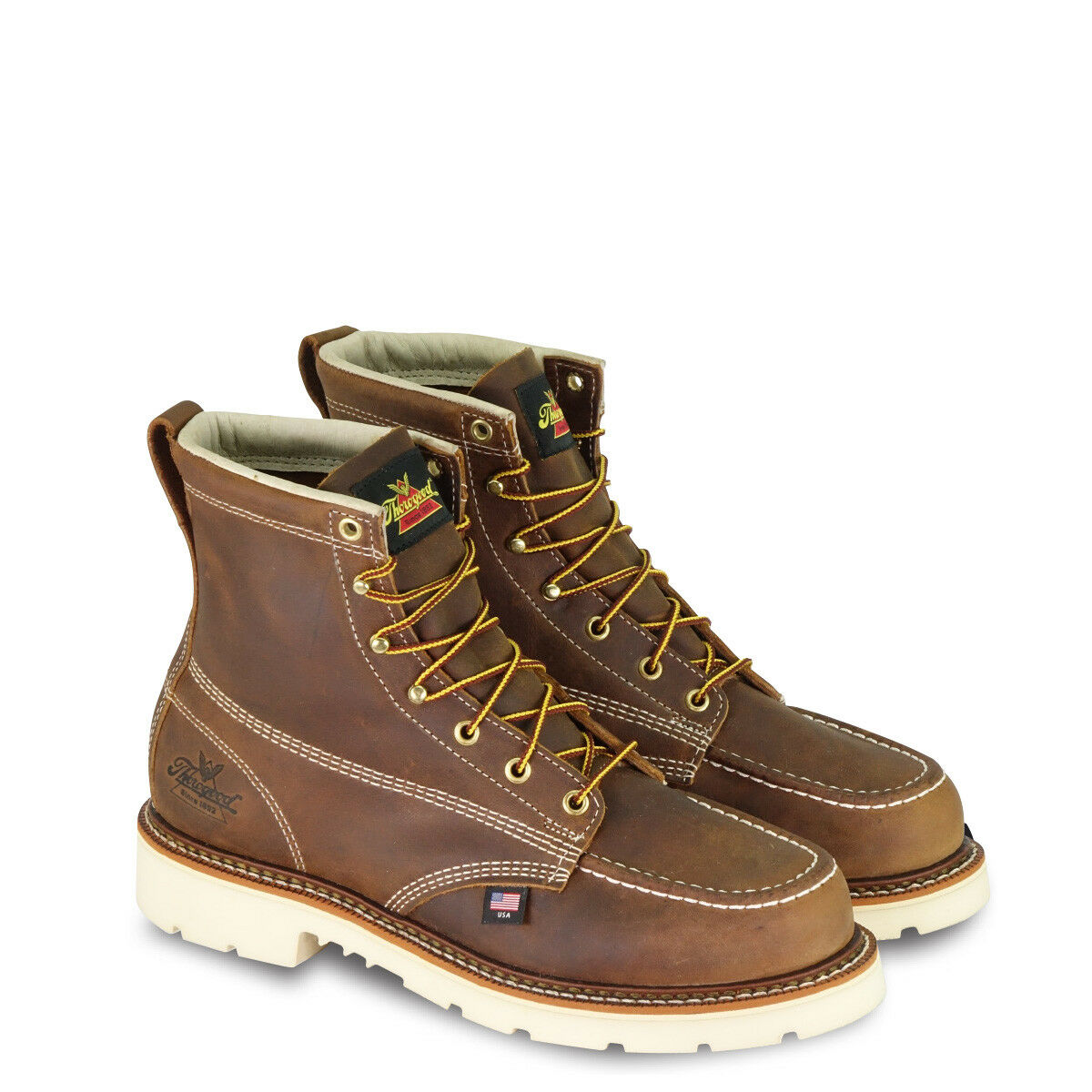 Thgoldgood Boots Made In USA American Heritage 6  Moc Toe EH 814-4375 Work