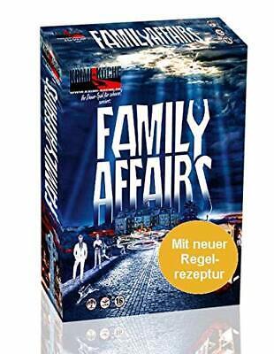Famille Affaires (Krimi-küche) Dinner-Spiel pour 8 Persones Jeu Krimi-Essen  Mord | eBay