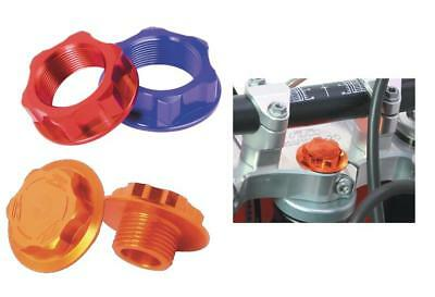 ZETA ZE58-2323 Steering Stem Nut and Bolt Red M26X32-P1.0 H10
