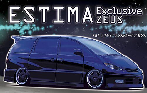 Fujimi ID85 TOYOTA Estima Exclusive ZEUS Plastic Model Kit from Japan NEW