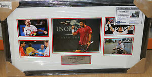 STANISLAS-WAWRINKA-HAND-SIGNED-TENNIS-PHOTO-SET-FRAMED-PHOTO-PROOF-amp-C-O-A