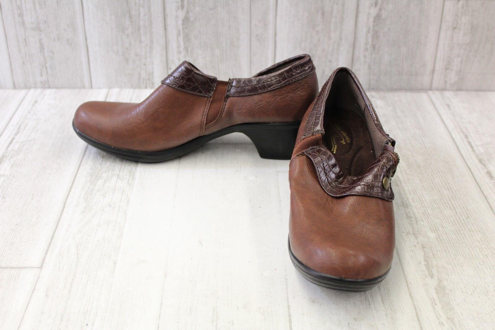 **Easy Street Darcy Booties - Women's Size 8.5 M, Brown