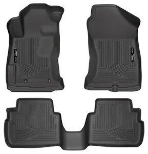 Husky-Liners-WeatherBeater-Floor-Mats-3pc-99661-For-Subaru-Impreza-17-19-Black