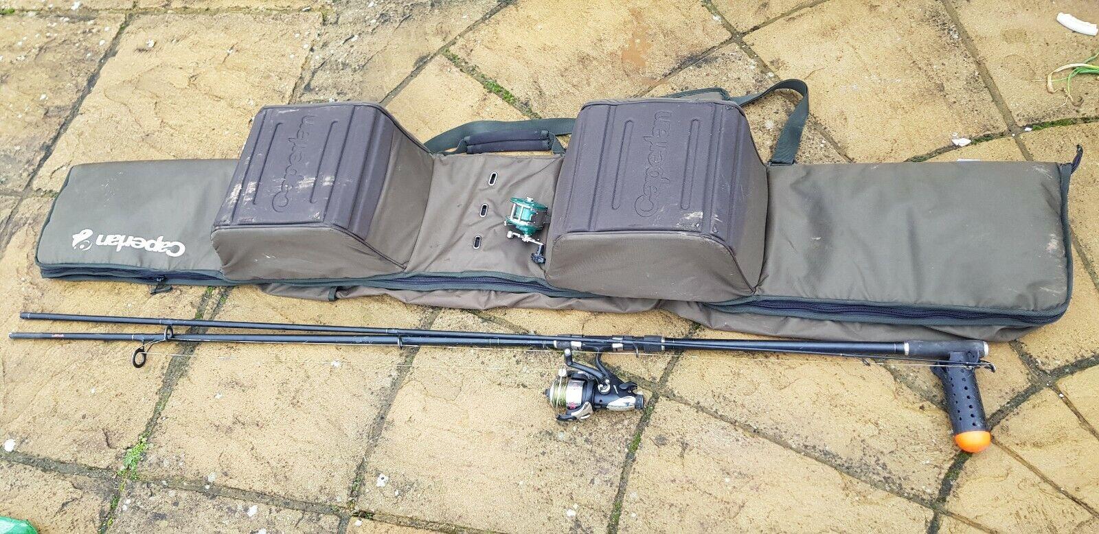 CAPERLAN CARP FISHING HOLDALL-5 4 ROD FISHING SLEEVE 13'