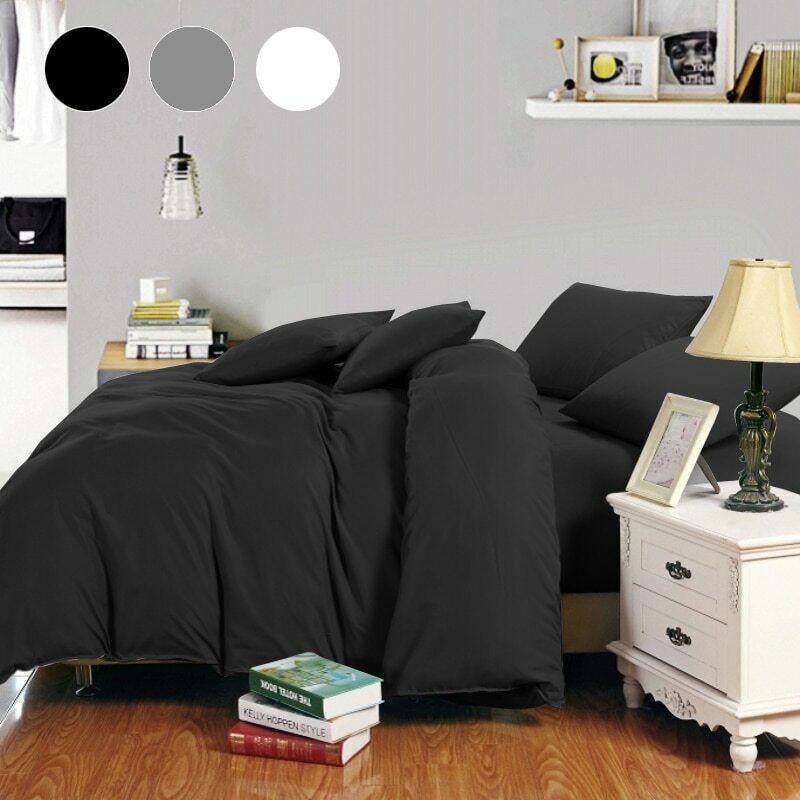 Bedding Set Queen Double King Single Duvet Cover Bed Linen Home Decor