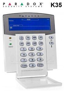 paradox security alarm system k35 32 zone hardwired. Black Bedroom Furniture Sets. Home Design Ideas