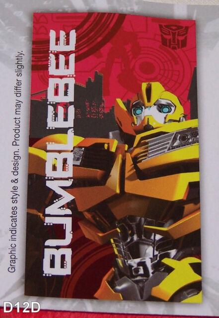 Transformers Prime Bumblebee Printed Cotton Velour Beach Towel 60cm x 120cm New