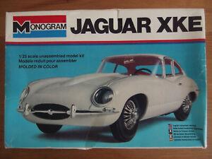 Maquette Monogram Jaguar Xke Type E Neuve Au 1/25 1978
