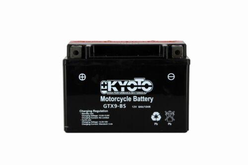 Batería Hyosung Gv 125 aquila 2000-2007 Kyoto 712090 YTX9-BS
