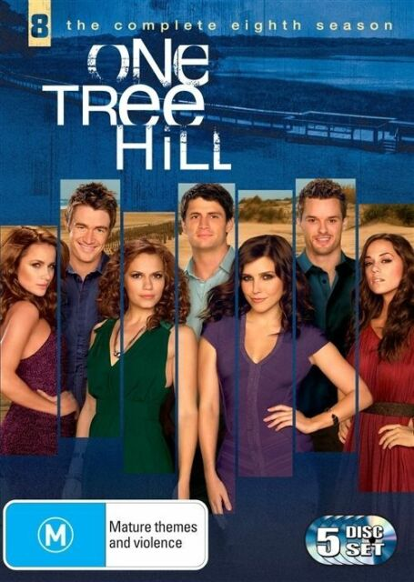 One Tree Hill : The Complete Eighth Season 8 (R4 DVD 5 Disc Set) VGC FREE POST