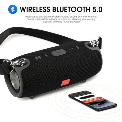 Tragbarer Wireless Bluetooth Lautsprecher Stereo Subwoofer SD Musicbox MP3 10W