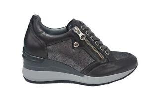 Nero N°38 Antracite 806611 Sneaker Donna Giardini rnCqrX