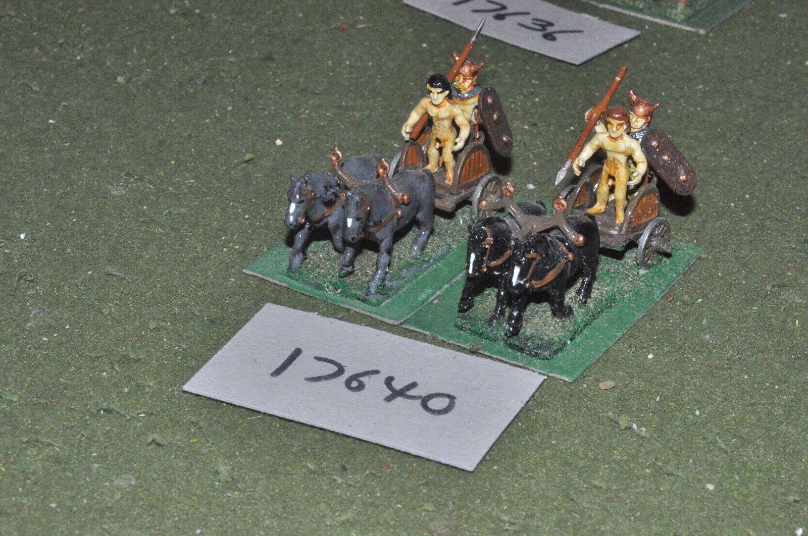 25mm roman era   gaul - gallic chariots 2 chariots - chariot (17640)