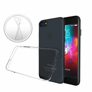 ULTRA-SLIM-Case-fuer-iPhone-7-Silikon-Huelle-Schutzhuelle-TPU-Transparent-Thin-Duenn