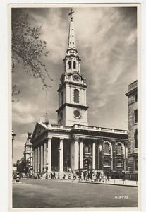 St-Martin-In-The-Fields-London-Vintage-RP-Postcard-179a