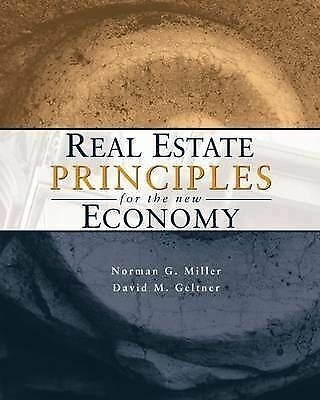 Real Estate Principles for the New Economy by Geltner, David M. -ExLibrary
