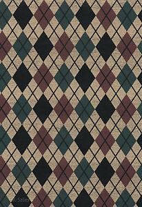 Details About Rustic Black Diamond Mens Cave Country Lodge Checkered Plaid Dbl Rolls Wallpaper
