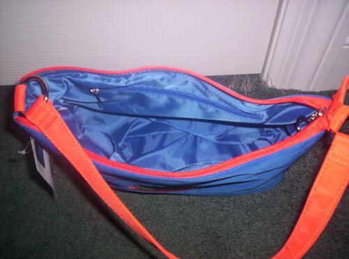 Brand New UNIVERSITY OF FLORIDA GATORS PURSE~ Gator Head Emblem Orange /& Blue