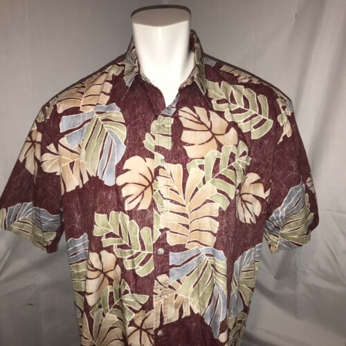 Tori Richard Mens XXXL Hawaiian Shirt Red Floral L