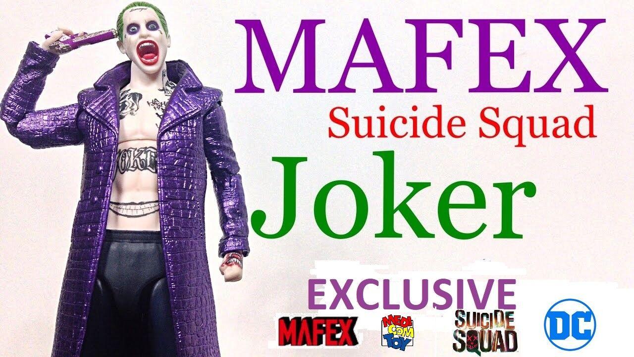 Medicom - dc suicide - squad - joker exklusive action - figur jarot leto - neue