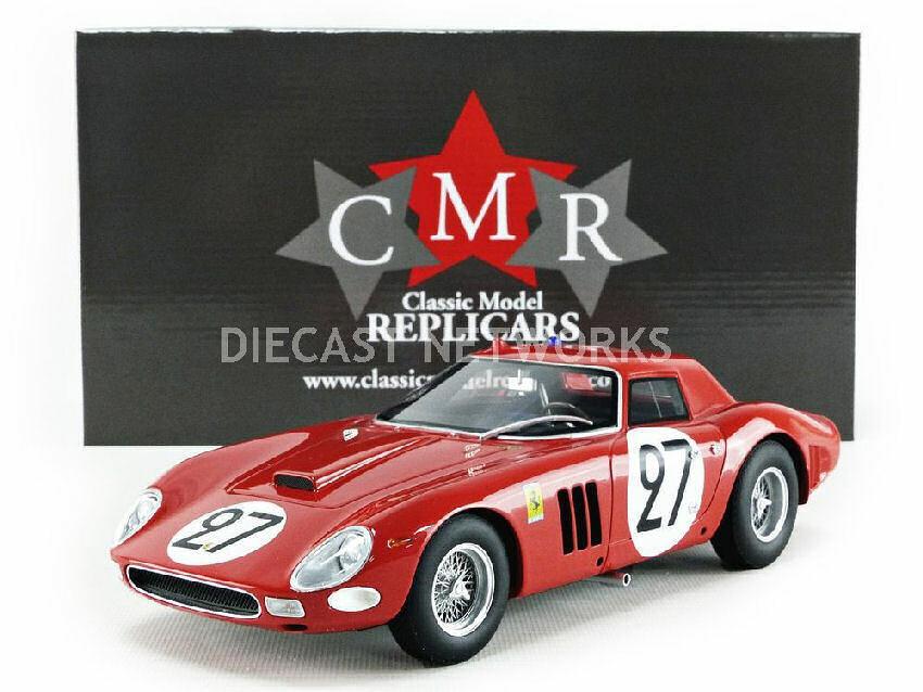 Ferrari 250 Gto  27 9th Lm 1964 F. Tavano   B. Grossmann 1 18 Model CMR