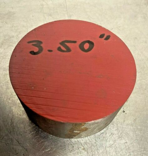 1045 HR Steel Round Rod 3-1//2 in diameter x 1-1//2 in Long