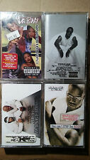 LOT OF 4 90'S HIP HOP CASSETTE TAPE ALBUMS DA BRAT PUFF DADDY KRIS KROSS SHAQ
