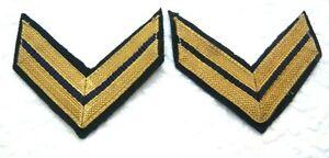 Schulterklappen Rangabzeichen Marine KLETT Oberstabsbootsmann oliv NEU ##1601