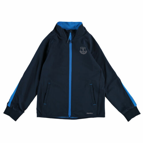 Kids Football Fanatics 2 13yrs Everton Sport Track Top Navy//Reflective