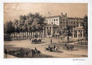 BALTIMORE-Teilansicht-schoene-Lithographie-um-1840-Original