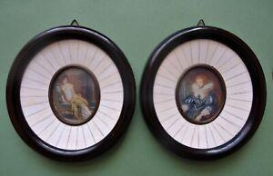 paire-de-miniatures-anne-d-039-autriche-et-madame-de-recamier-signe